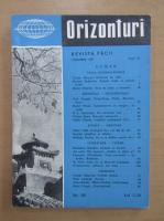 Anticariat: Revista Orizonturi, anul VI, nr. 68, ianuarie 1957