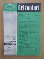 Anticariat: Revista Orizonturi, anul VI, nr. 70, martie 1957