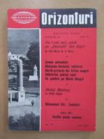 Anticariat: Revista Orizonturi, anul VI, nr. 77, octombrie 1957