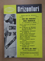 Anticariat: Revista Orizonturi, anul X, nr. 120, mai 1961