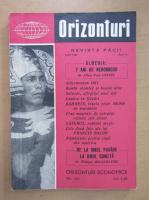 Anticariat: Revista Orizonturi, anul X, nr. 121, iunie 1961