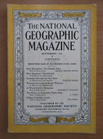 The National Geographic Magazine, volumul LX, nr. 3, septembrie 1931