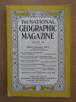The National Geographic Magazine, volumul LXIX, nr. 1, ianuarie 1936