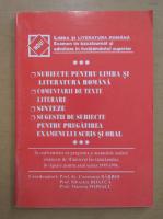 Anticariat: Constanta Barboi - Limba si literatura romana. Examen de bacalaureat si admitere in invatamantul superior
