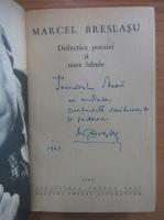 Anticariat: Marcel Breslasu - Dialectica poeziei si niste fabule (cu autograful autorului)