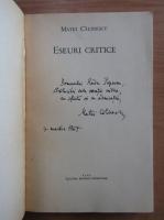 Anticariat: Matei Calinescu - Eseuri critice (cu autograful autorului)
