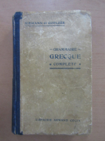 Othon Riemann - Grammaire grecque complete