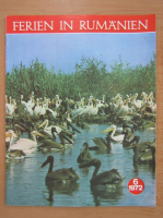 Anticariat: Revista Ferien in Rumanien, nr. 6, 1972