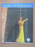 Anticariat: Revista Ferien in Rumanien, nr. 7, 1972