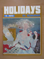 Anticariat: Revista Holidays in Romania, nr. 4, 1973