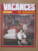 Anticariat: Revista Vacances en Roumanie, nr. 11, 1973