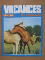 Anticariat: Revista Vacances en Roumanie, nr. 2 (26), 1974