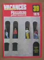 Anticariat: Revista Vacances en Roumanie, nr. 39, 1975