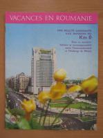 Anticariat: Revista Vacances en Roumanie, nr. 5, 1972
