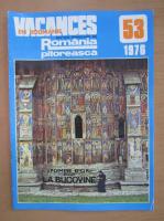 Anticariat: Revista Vacances en Roumanie, nr. 53, 1976