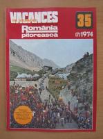 Anticariat: Revista Vacances en Roumanie, nr. 7 (35), 1974