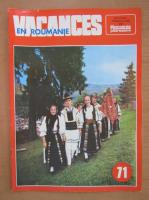Anticariat: Revista Vacances en Roumanie, nr. 71, 1977