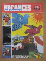 Anticariat: Revista Vacances en Roumanie, nr. 78, 1977