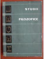 G. W. F. Hegel - Studii filozofice