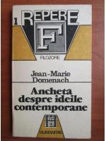 Jean Marie Domenach - Ancheta despre ideile contemporane