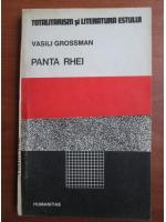 Anticariat: Vasili Grossman - Panta Rhei