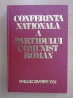 Anticariat: Conferinta Nationala a Partidului Comunist Roman, 14-16 decembrie 1987