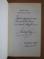 Gabriel Iuga - Vecinatatea pustiului (cu autograful autorului)