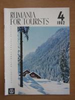 Anticariat: Revista Rumania for Tourists, nr. 4, 1962