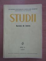 Anticariat: Studii. Revista de istorie, anul X, nr. 6, 1957
