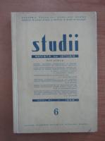 Studii. Revista de istorie, anul XI, nr. 6, 1958