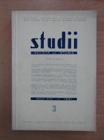 Anticariat: Studii. Revista de istorie, anul XIV, nr. 3, 1961