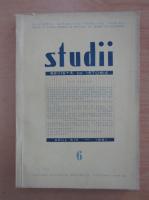 Anticariat: Studii. Revista de istorie, anul XIV, nr. 6, 1961
