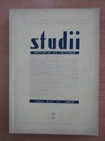 Studii. Revista de istorie, anul XVI, nr. 2, 1963