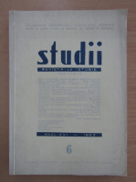 Studii. Revista de istorie, anul XVI, nr. 6, 1963