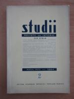 Studii. Revista de istorie, anul XVII, nr. 2, 1964