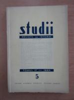 Studii. Revista de istorie, tomul 17, nr. 5, 1964
