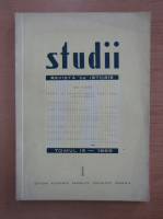 Studii. Revista de istorie, tomul 19, nr. 1, 1966