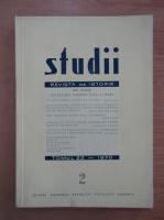 Studii. Revista de istorie, tomul 23, nr. 2, 1970