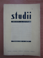Studii. Revista de istorie, tomul 23, nr. 3, 1970