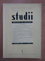 Studii. Revista de istorie, tomul 25, nr. 1, 1972