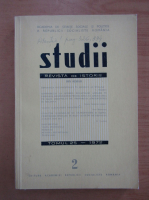 Anticariat: Studii. Revista de istorie, tomul 25, nr. 2, 1972