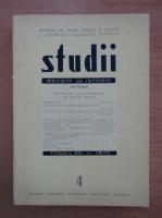 Studii. Revista de istorie, tomul 25, nr. 4, 1972