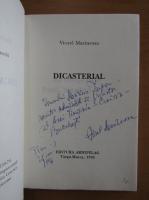 Anticariat: Viorel Marineasa - Dicasterial (cu autograful autorului)