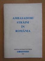 Ambasatori straini in Romania 1996