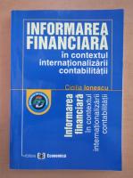 Anticariat: Cicilia Ionescu - Informarea financiara