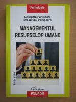 Anticariat: Georgeta Panisoara - Managementul resurselor umane