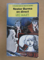 Anticariat: Leo Malet - Nestor Burma en direct
