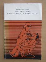 O. I. Mikhailovskaya - English Reader for Students of Stomatology