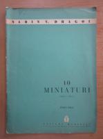 Sabin V. Dragoi - 10 miniaturi. Piano solo
