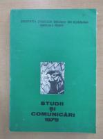 Anticariat: Studii si comunicari 1979